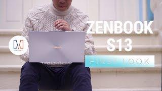 ASUS ZenBook S13 First Look (UX392)