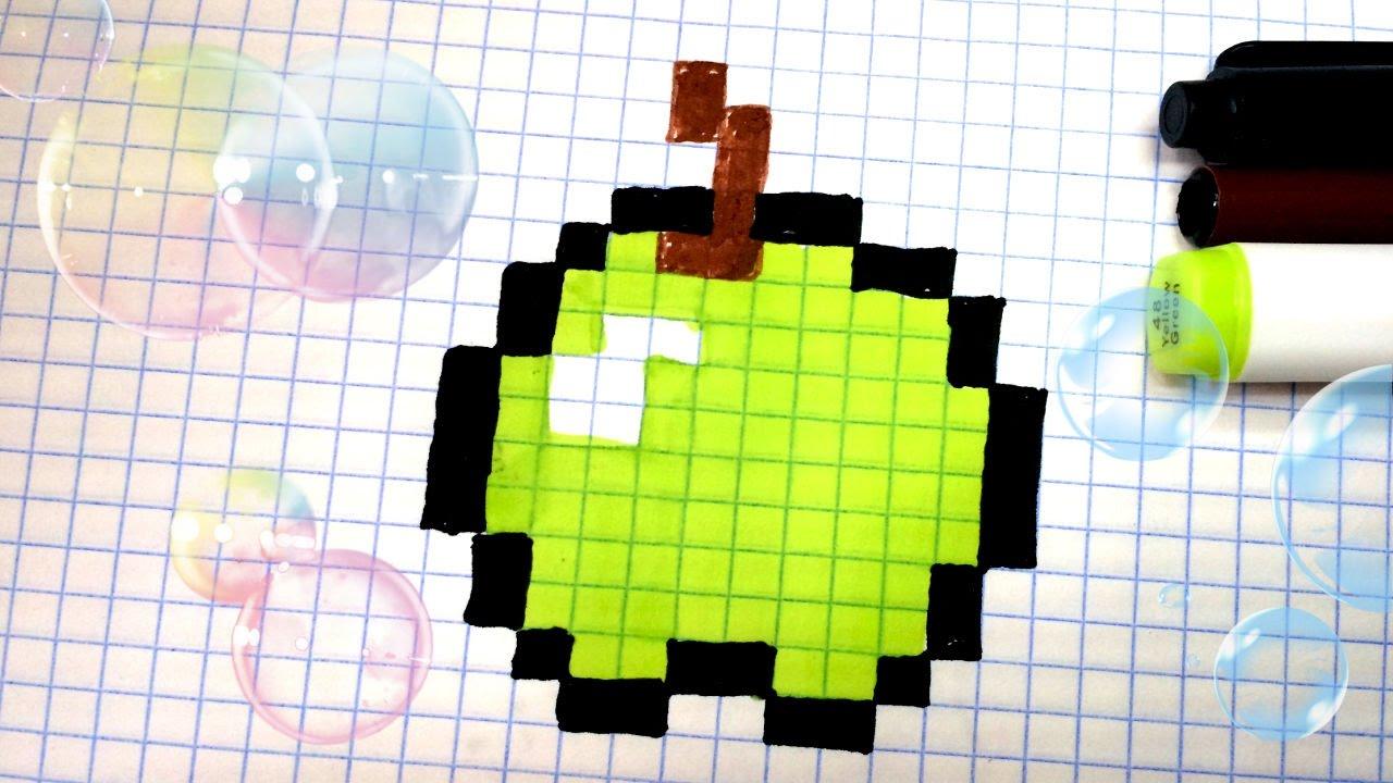 Рисовать по клеточкам ютуб видео