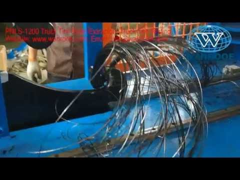 Tire Bead Steel wire Remover,Tire bead extracting machine, Used tire bead Extractor