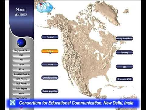 World Geography Through Map -III