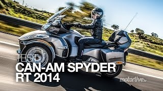 TEST | CAN-AM SPYDER RT 2014 : 3 cylindres pour 3 roues