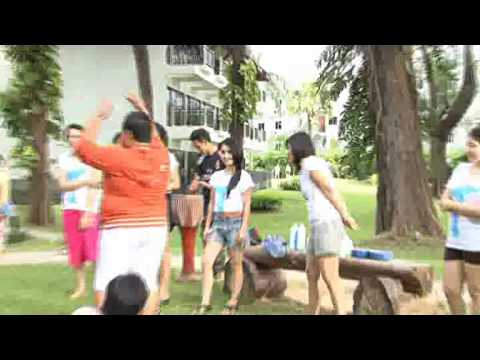 """Tina funny dance with FC """"Hippo"""""""