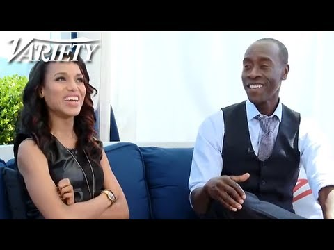 Don Cheadle and Kerry Washington Talk Life in Hollywood