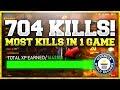 704 KILLS IN A SINGLE GAME OF WW2! (1.5MIL XP)