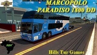 ETS 2 MARCOPOLO PARADISO DD 1800