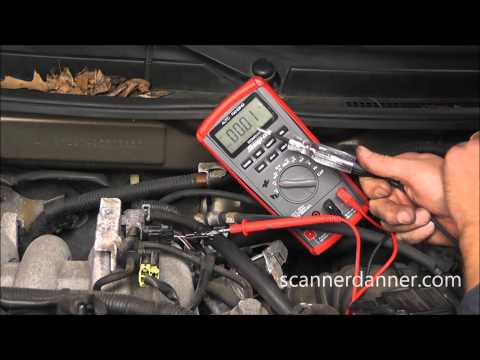 How to test a purge solenoid (Mazda P0443. P0455)