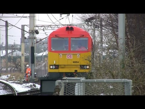 Tuesday 22 January 2013. A morning session at Walton Old Junction to capture the current Class 60 locos working the Liverpool Bulk Terminal - Fiddler's Ferry coal circuit. Best viewed in...
