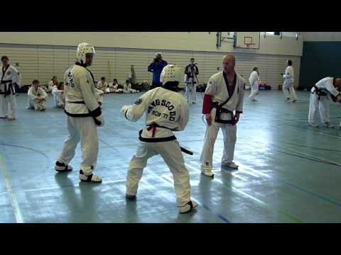Tang Soo Do Sparring David Vs. Jose.MOV Image 1