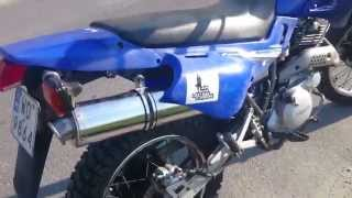 Dominator Exhaust! Wydech Yamaha XT600E NEW!!!