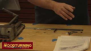 Legacy Woodturning - Bullet Click Pen Assembly - How to Video