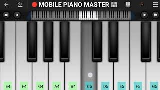 Aankh Hain Bhari Bhari Piano Tutorial || Kumar Sanu || Mobile Perfect Piano Tutorial
