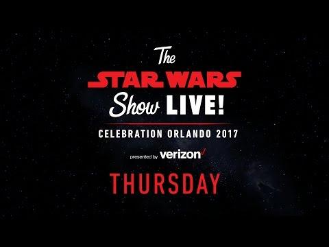 Star Wars Celebration Orlando 2017 Live Stream в Day 1  The Star Wars Show LIVE!