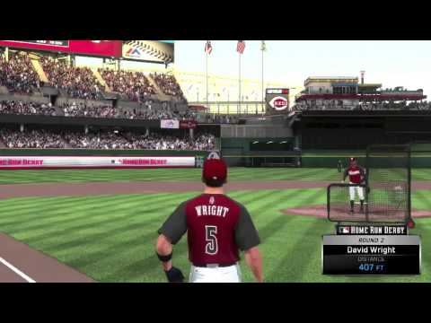 MLB 15 The Show (PS4) - New York Mets Franchise EP14 (Home Run Derby)