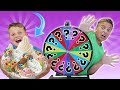 Mystery Wheel Of Ice Cream Sundae Challenge!