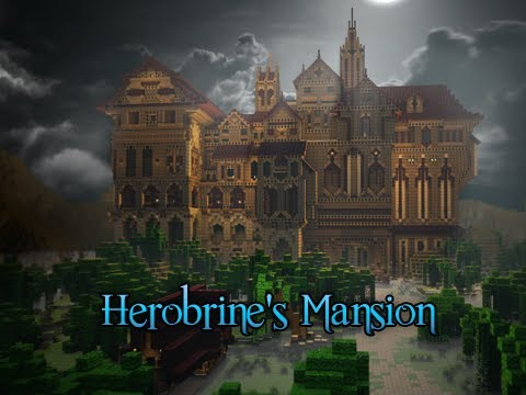 Herobrines Mansion Minecraft Adventure Map
