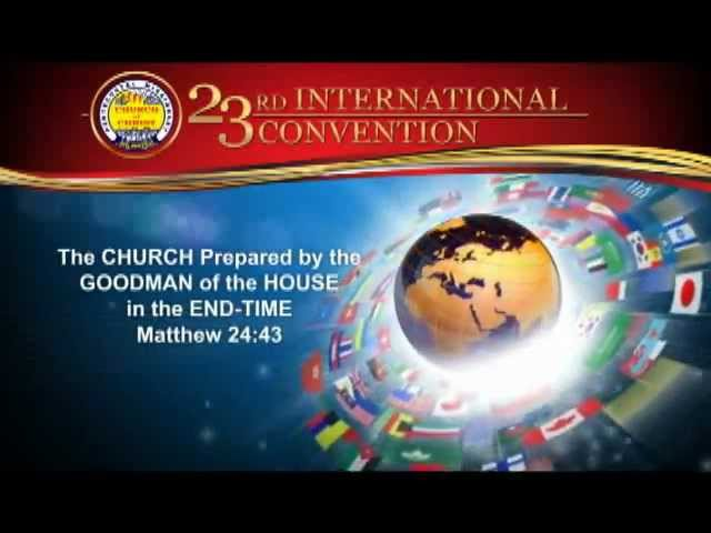 23rd International Convention (PMCC 4th Watch)