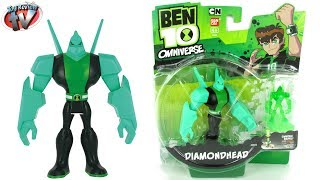 Ben 10 Omniverse Diamondhead Action Figure Toy Review, Bandai