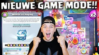 NIEUWE GAME MODE IN CLASH ROYALE IS MEGA VET!! NEDERLANDS