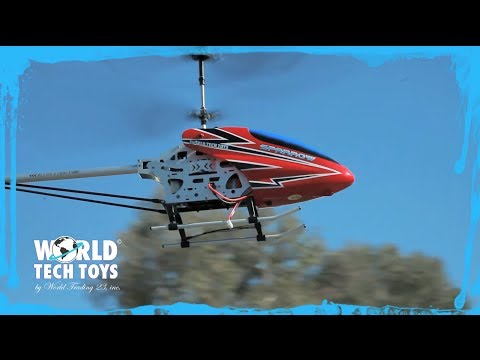 World Tech Toys Introduces the Metal Sparrow Gyro Helicopter