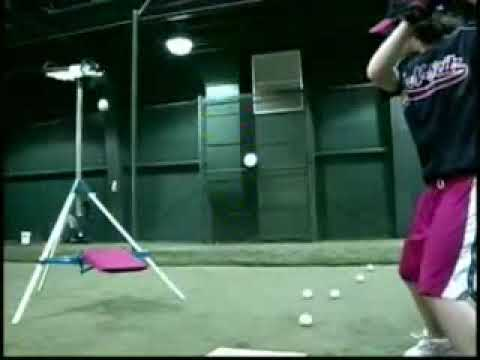 the backyard batter soft toss pitching machine is lightweight tough