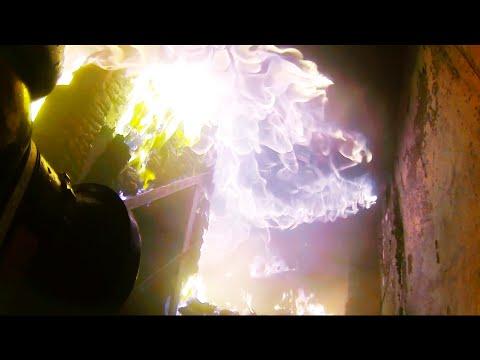 Эпизод 3 : Горящий дом. Лицом к лицу с огнём