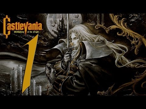 Castlevania Symphony Of The Night Playthrough Part 1: A Real Fucking Vampire video