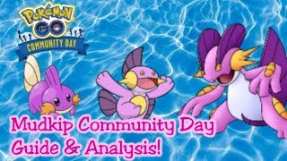 Mudkip Community Day Guide For Pokemon GO
