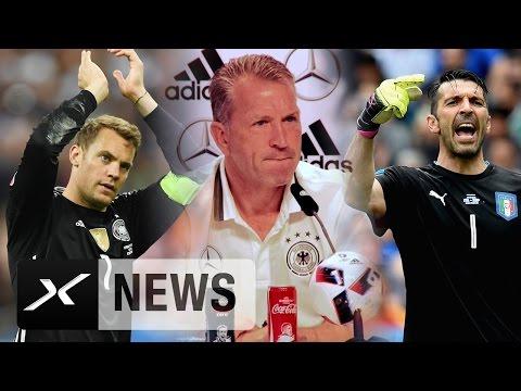 Manuel Neuer oder Gianluigi Buffon? Das sagt Andreas Köpke | Deutschland - Italien | EM 2016