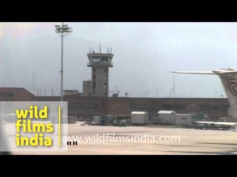 Tribhuvan international airport, Kathmandu, Nepal
