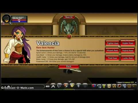 Aqw How to get Lvl 50 Awe enhancements