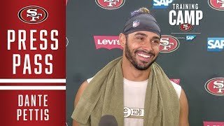 Dante Pettis Talks about His Comfort Level Going into Year 2