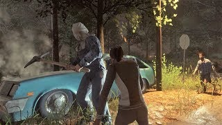 ¿ESCAPARAN EN COCHE? - FRIDAY THE 13th: THE GAME