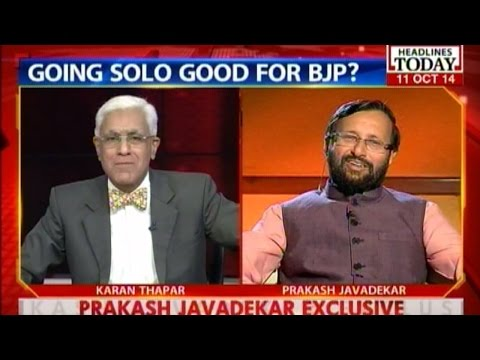 Nothing but the Truth: Prakash Javadekar defends Maharashtra split