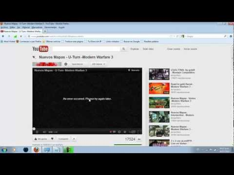 Youtube no Reproduce videos en Firefox