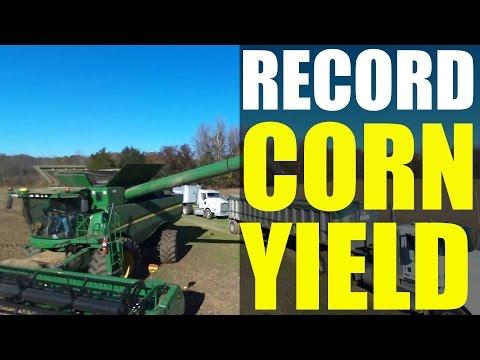 World Record Corn Yield (2015): David Hula - 532 bushels Genesis Ag