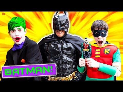 Who Is Batman? - You Won't Believe It! - With Epic Kids Toys