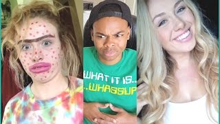 Don't Judge Challenge Compilation Reaction - #dontjudgechallenge