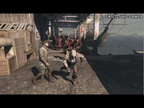 Assassin\'s Creed III - World Gameplay Premiere [LEGENDADO PT-BR]