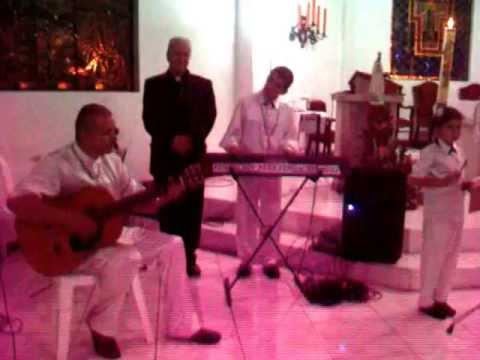 1002871 MONSEÑOR TULIO DUQUE GUTIERREZ  Y LAZARO EN CONCIERTO - NUEZ