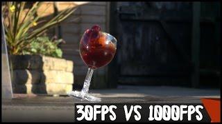 30fps vs 1000fps Slow Motion Destruction | PBTV