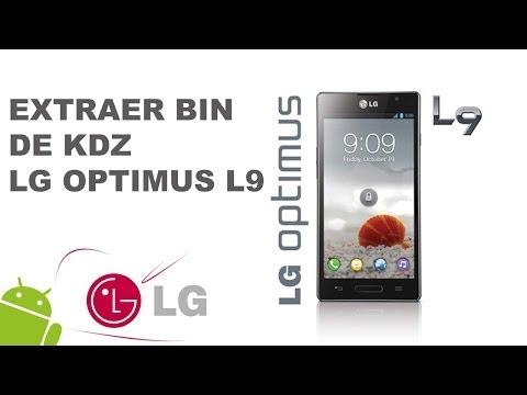 HD LG L9 Extraer BIN De KDZ Para Modificar