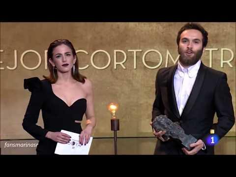 Marina salas en los Premios Goya 2018
