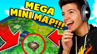 USING the WORLDS LARGEST MAP to WIN in Fortnite: Battle Royale!