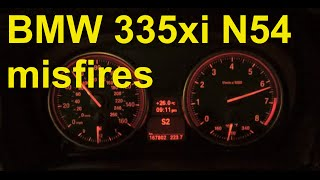BMW 335xi - chasing the misfires / dying xDrive transfer case