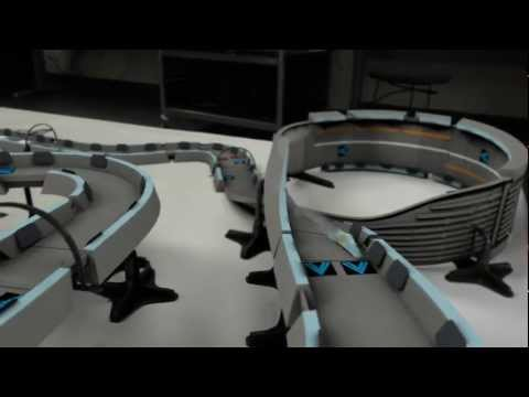 Controlled Quantum Levitation on a Wipe'Out Track