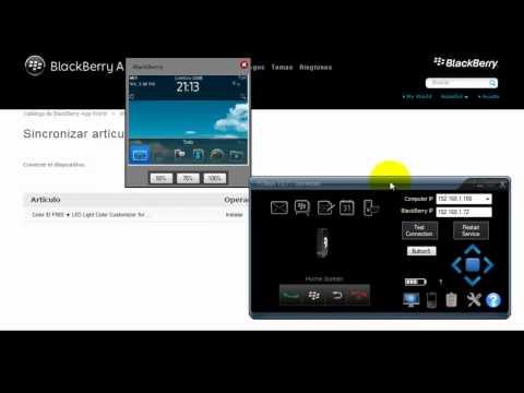Aprende a Instalar Aplicaciones  de  Blackberry App Word  desde tu pc