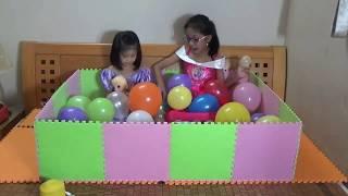 Xếp hình bồn tắm bóng bay | trò chơi xếp hình Puzzle games | đồ chơi trẻ em | PA channel