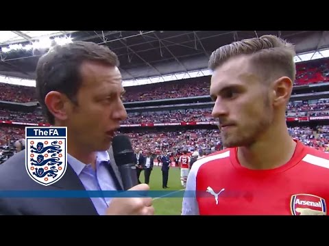 Ramsey looks to Crystal Palace after Arsenal 3-0 Manchester City | FATV Interview