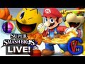 Super Smash Bros. Wii U   3DS LIVE New Characters Discussion (N64 Game Throwback Night)