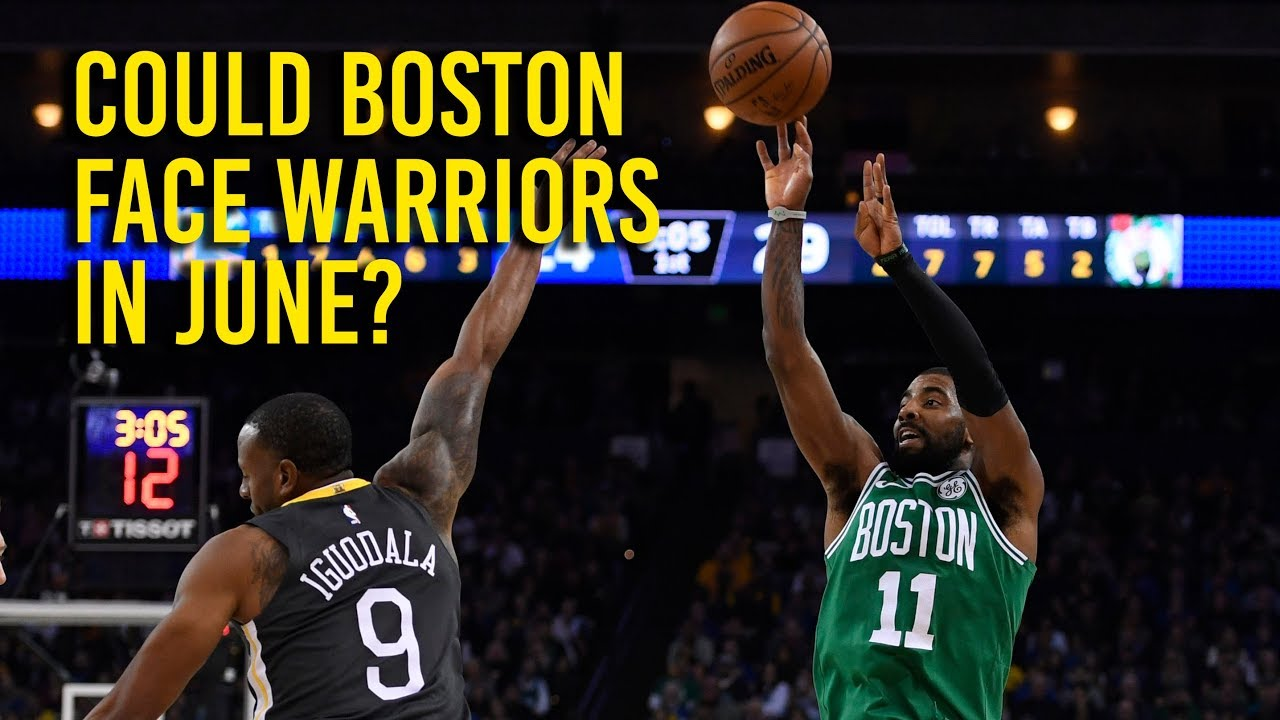 Could Boston face the Golden State Warriors in June?